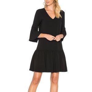 GANNI mini black dress